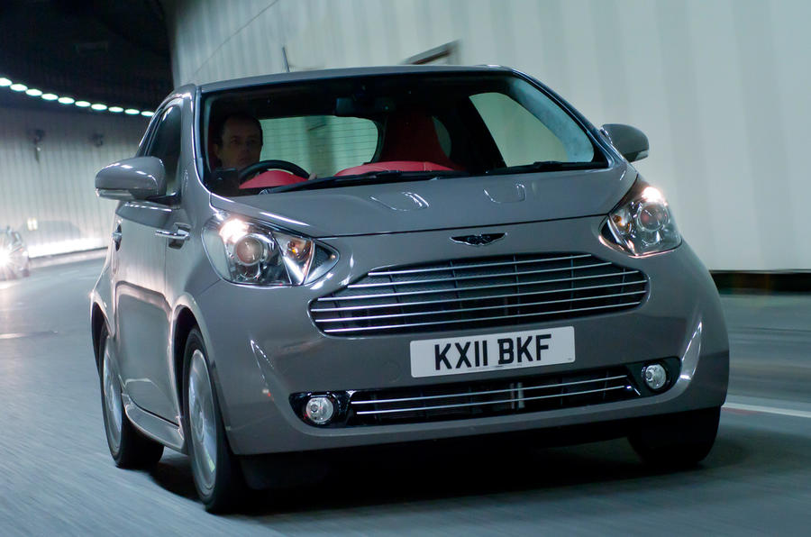 Aston Martin Cygnet V12 Possible Autocar