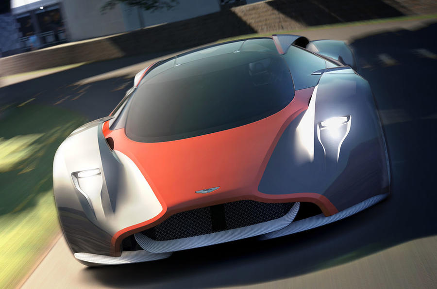 Exclusive: up close with the new Aston Martin DP-100