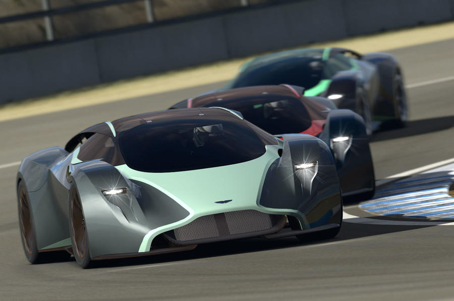 Aston Martin Db Concept Gyin F
