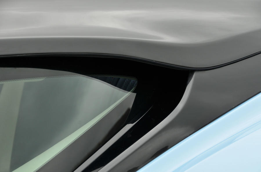 Aston Martin DB11 rear window
