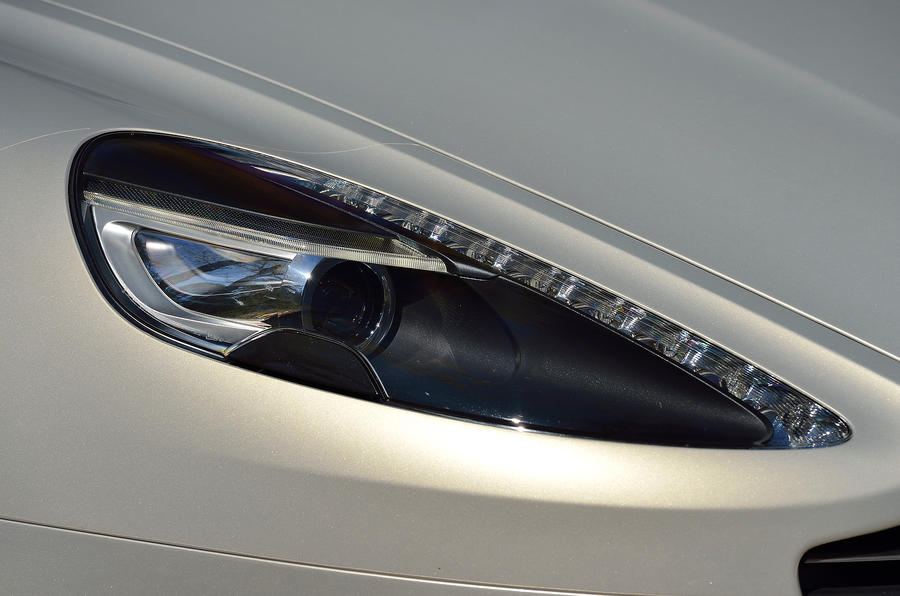 Aston Martin DB9 headlight