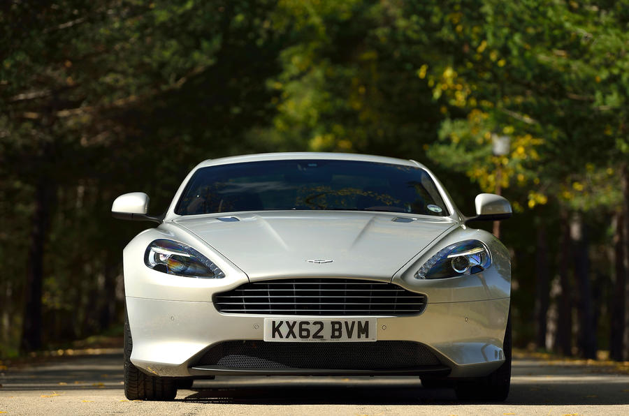 Aston Martin DB9 front end