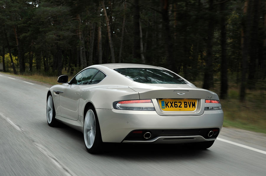 Aston Martin DB9 rear