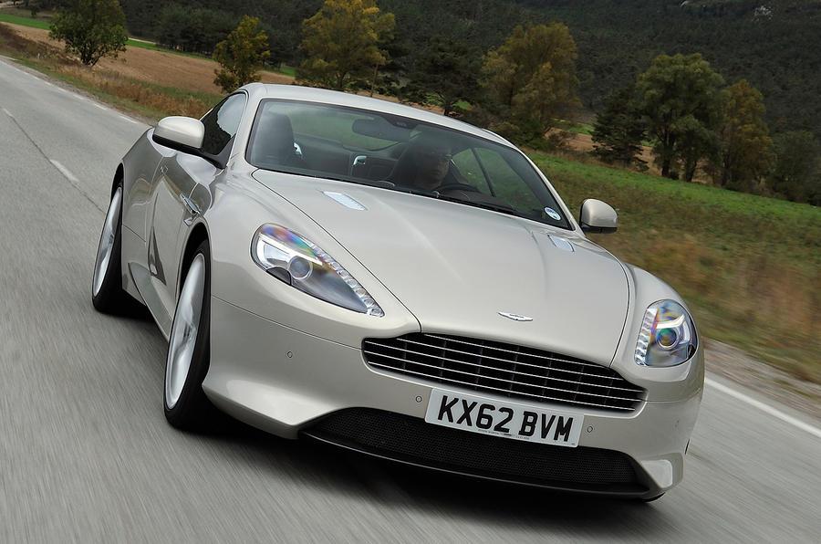 183mph Aston Martin DB9
