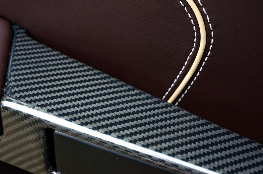 Aston Martin DB9 carbonfibre decals