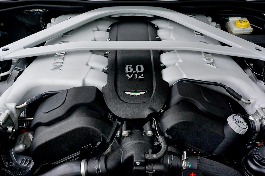 6.0-litre V12 Aston Martin DB9 engine