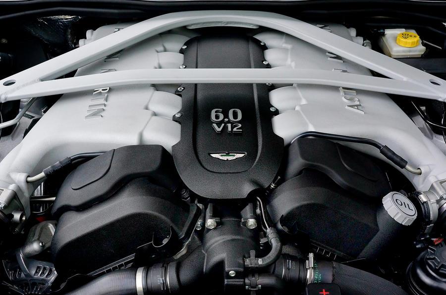 6.0-litre V12 Aston Martin DB9 engine