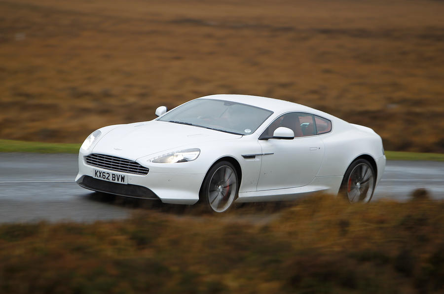 Highly refined Aston Martin DB9