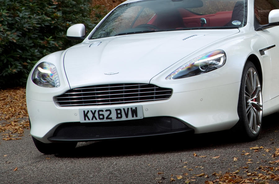Aston Martin DB9 grille