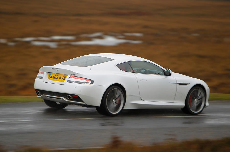 Aston Martin DB9 rear quarter