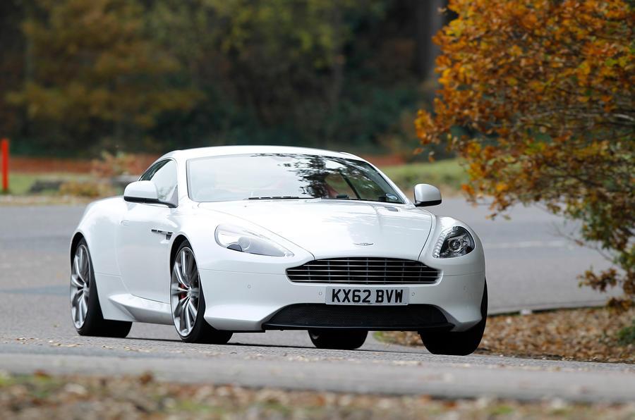 Aston Martin DB9 has a smooth ride