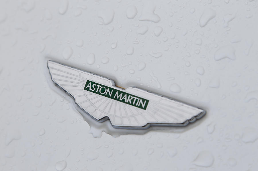 Aston Martin DB9 badging