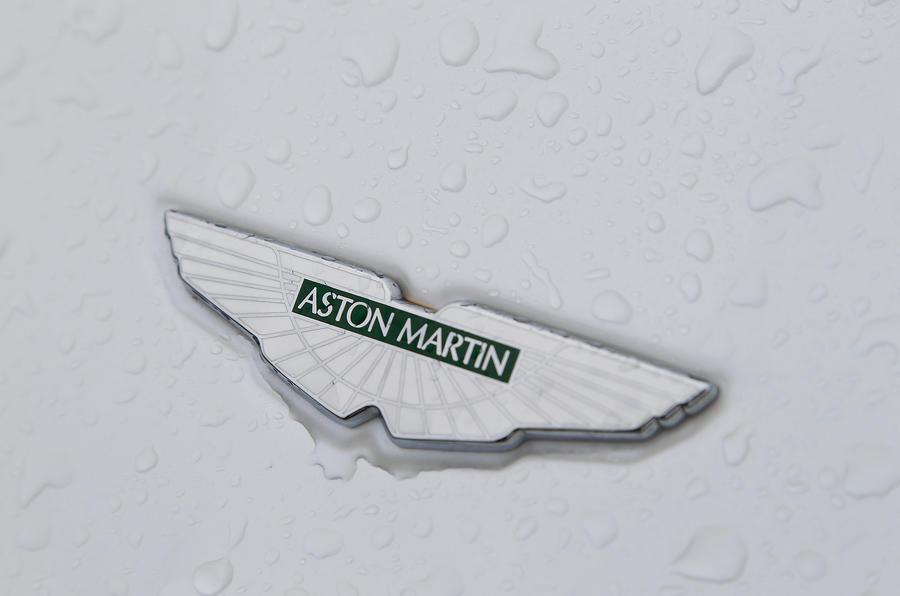 Aston Martin DB9 badging