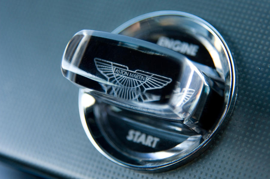 Aston Martin DBS's key