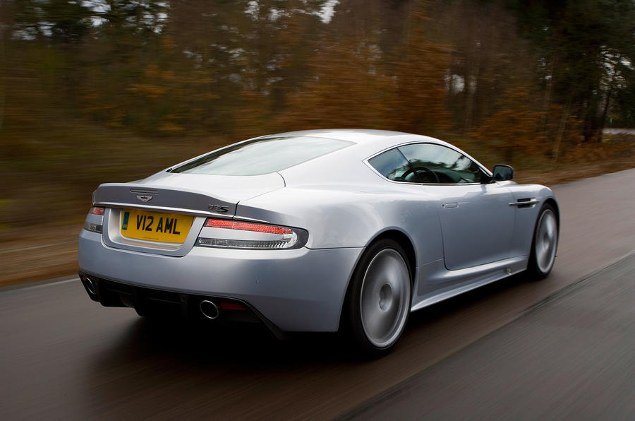 Aston Martin DBS rear