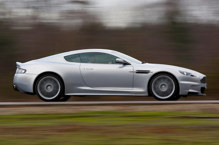 Aston Martin DBS side profile