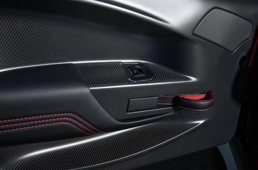 Aston Martin Vantage GT8 doorcard