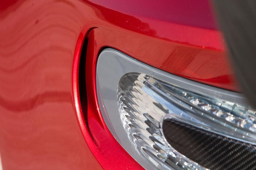 Aston Martin Vantage GT8 rear light detail