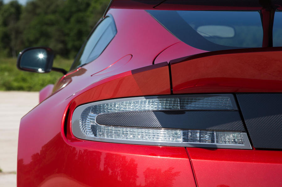 Aston Martin Vantage GT8 rear lights