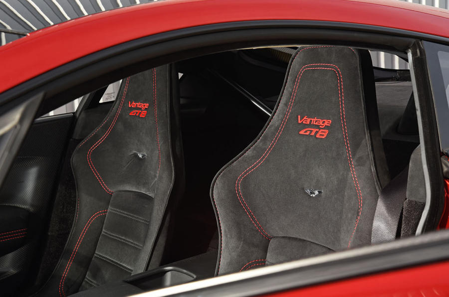 Aston Martin Vantage GT8 Interior Autocar