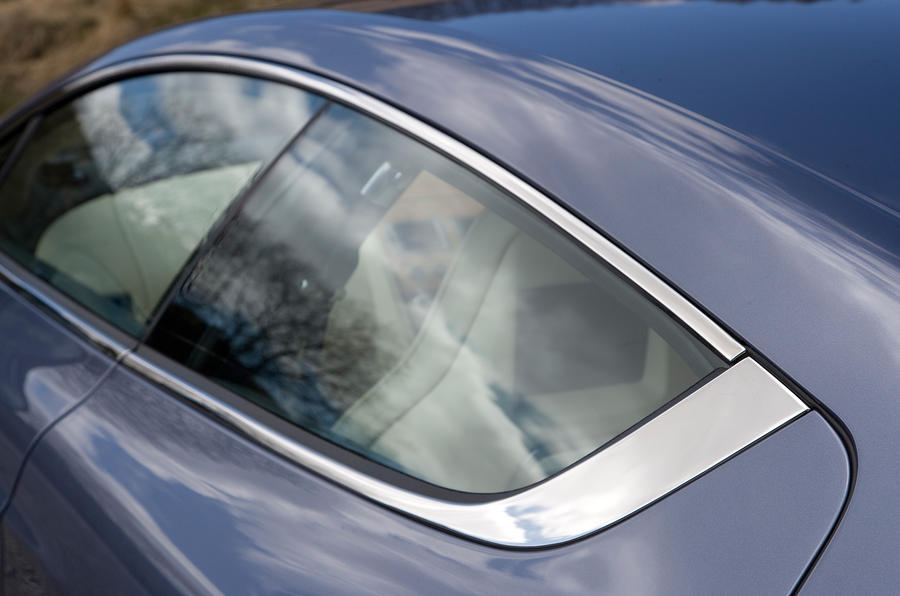 Aston Martin Rapide's rear doors