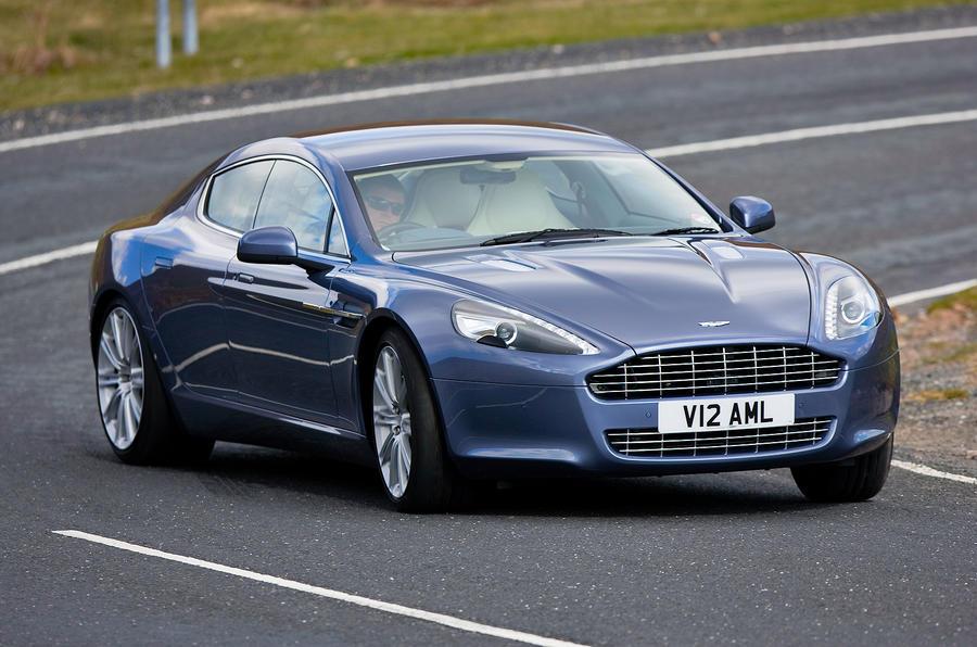 Aston Martin Rapide cornering