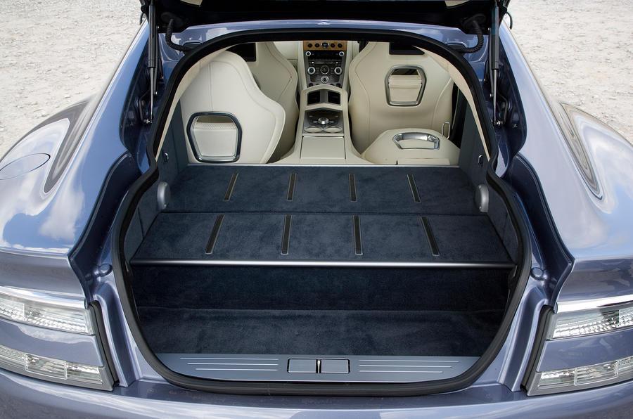Aston Martin Rapide boot