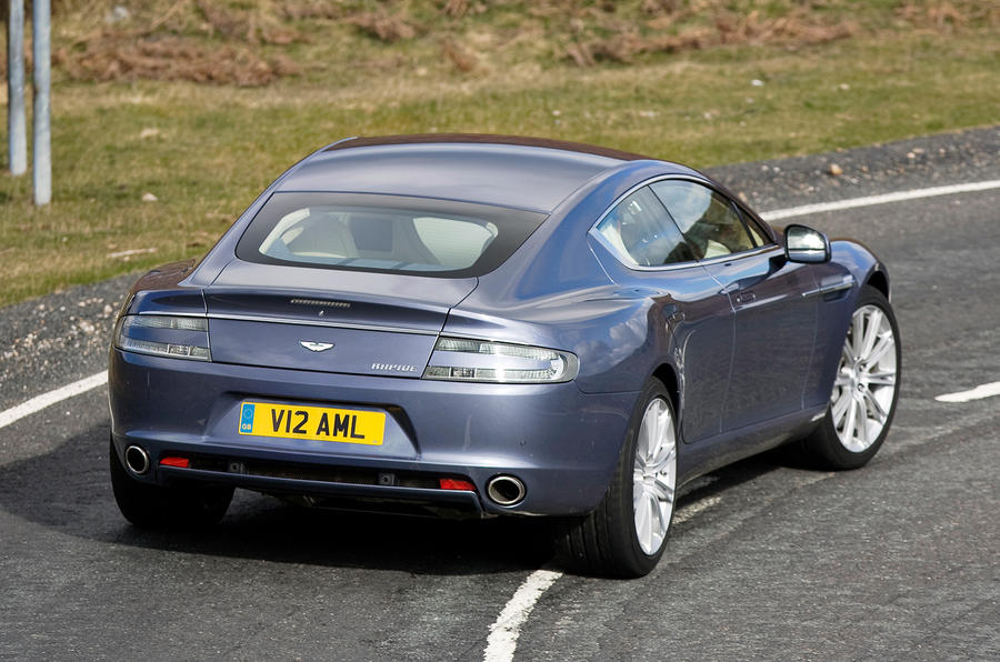 Aston Martin Rapide rear cornering