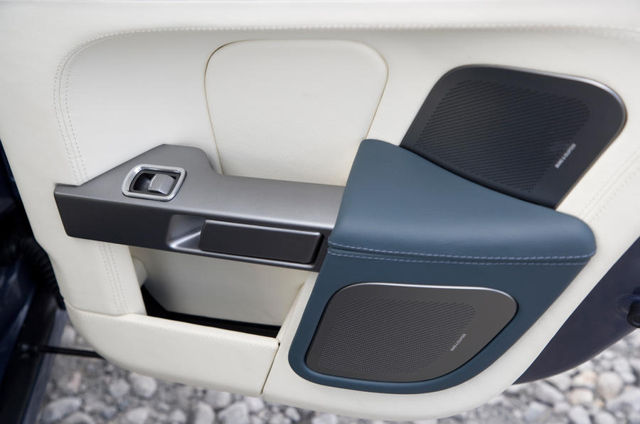 Aston Martin Rapide rear door card