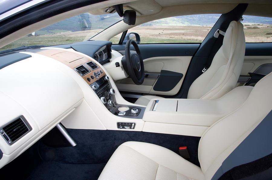 Aston Martin Rapide's interior