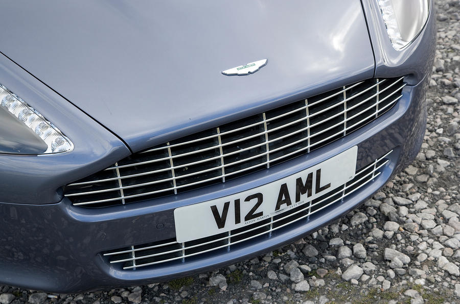 Aston Martin Rapide's front grille