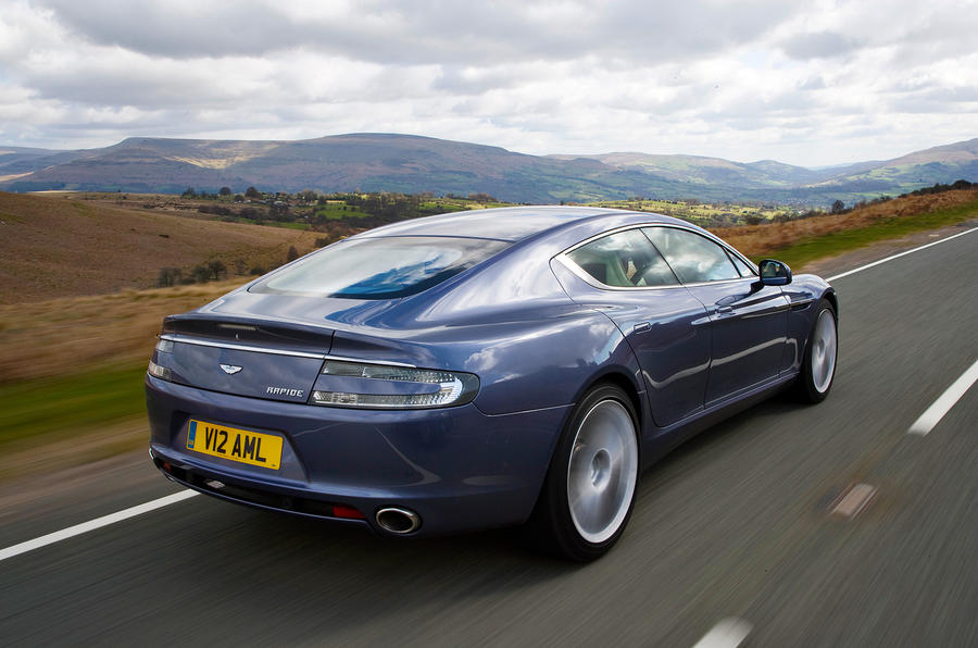 Aston Martin Rapide rear