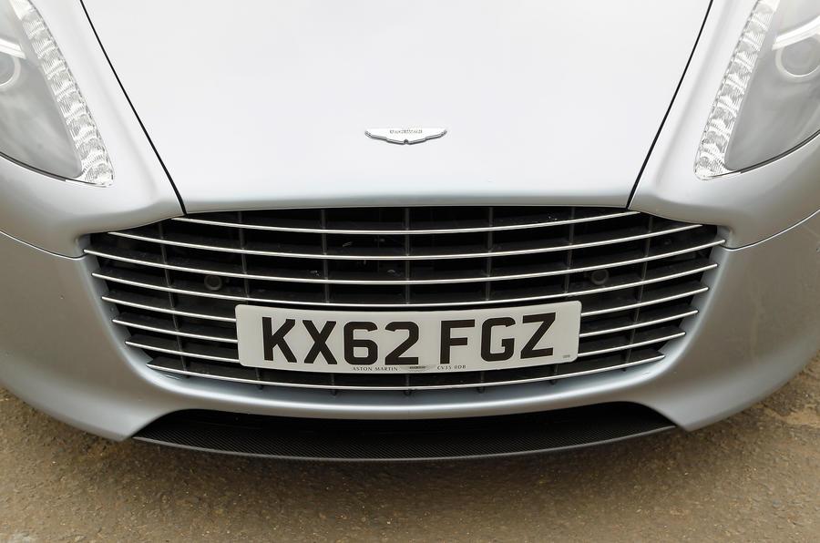 Aston Martin Rapide grille