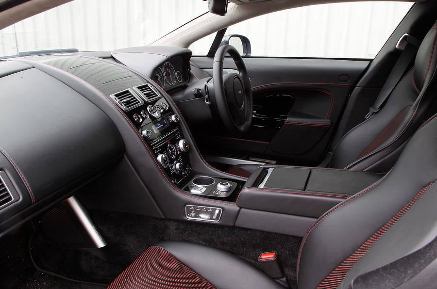 Aston Martin Rapide's front seats