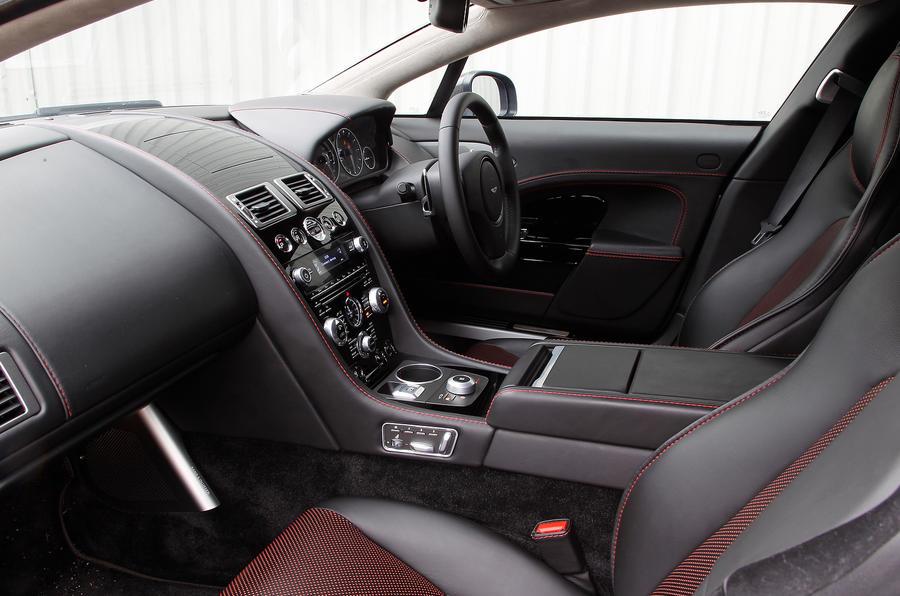 Aston Martin Rapide's front seats