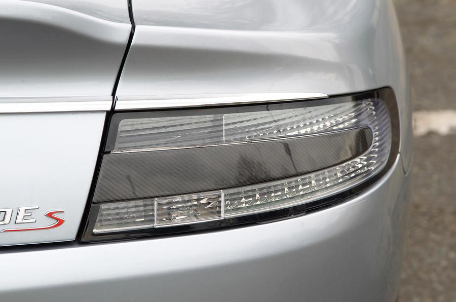 Aston Martin Rapide rear light