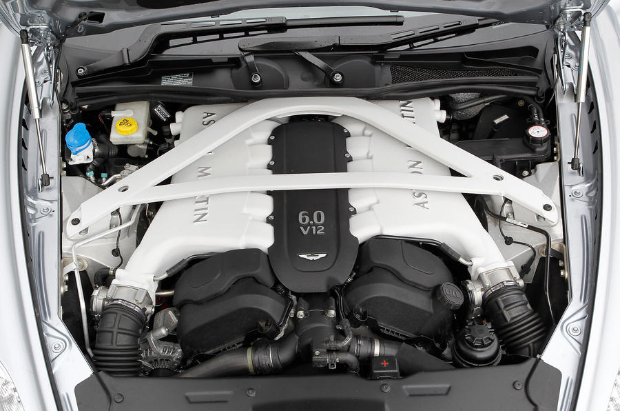 552bhp V12 Aston Martin Rapide engine