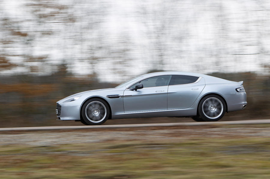 The precise Aston Martin Rapide
