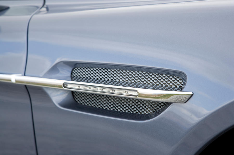Air vents on the Rapide