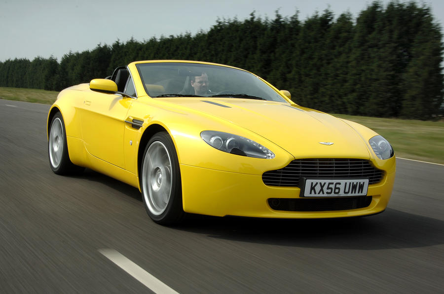 The 4.7-litre V8 Vantage Roadster