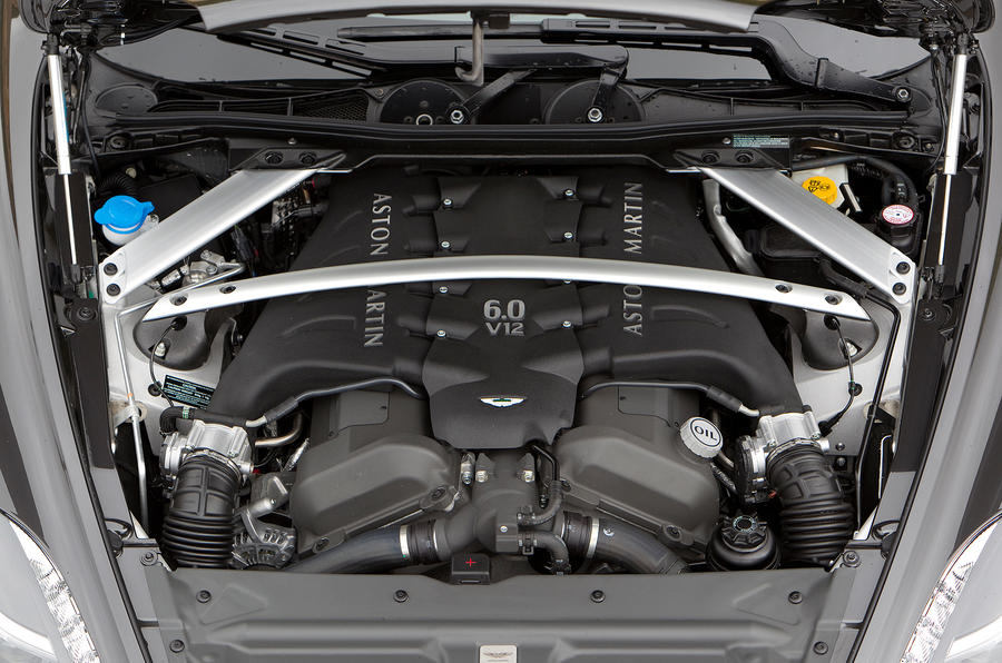 5.9-litre V12 Aston Martin Virage engine