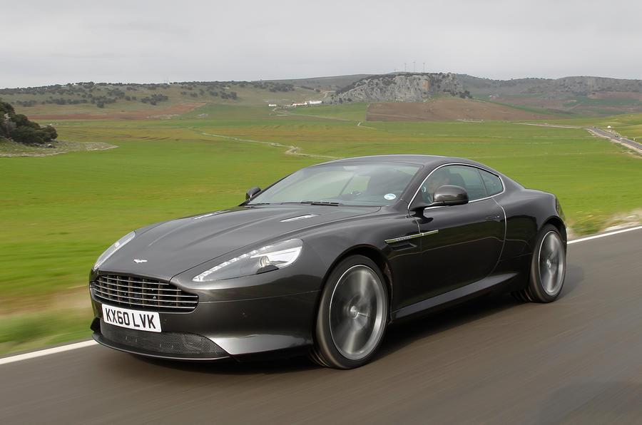 Aston Martin Virage looks like a DB9