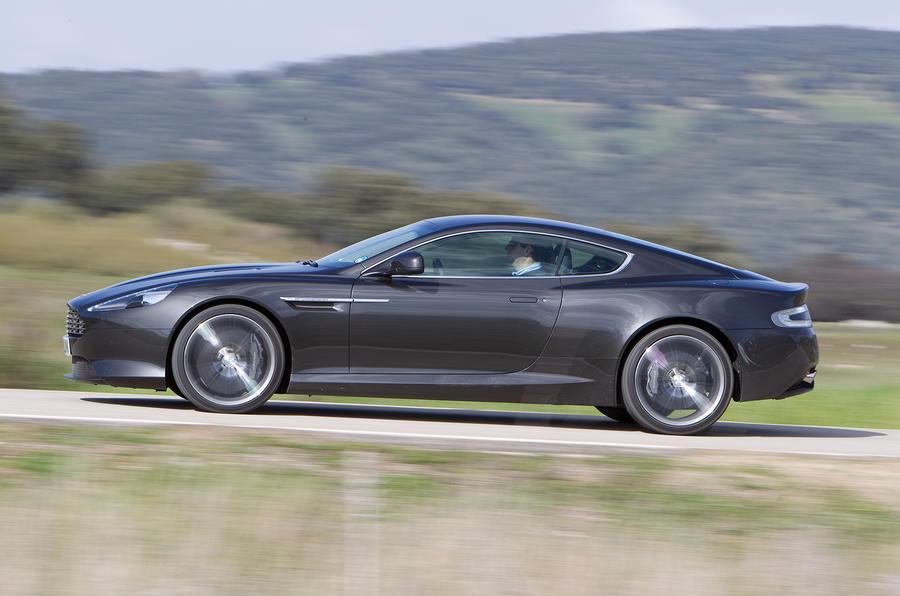 Aston Martin Virage side profile