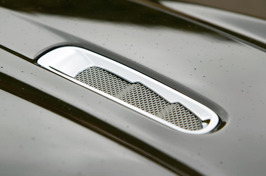 Aston Martin Virage bonnet vents