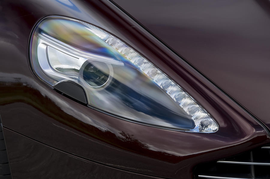 Aston Martin Rapide S headlights