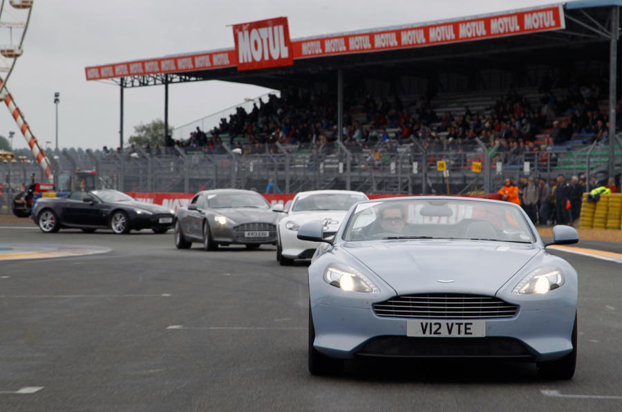 Aston centenary parade