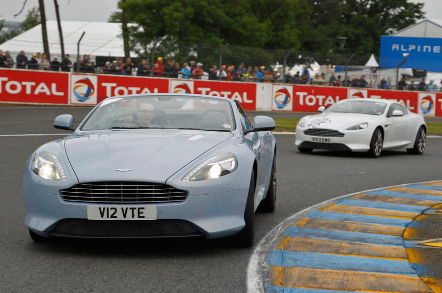 Aston centenary parade