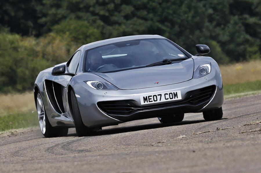 New versus used: Aston Martin V12 Vantage S or McLaren MP4-12C