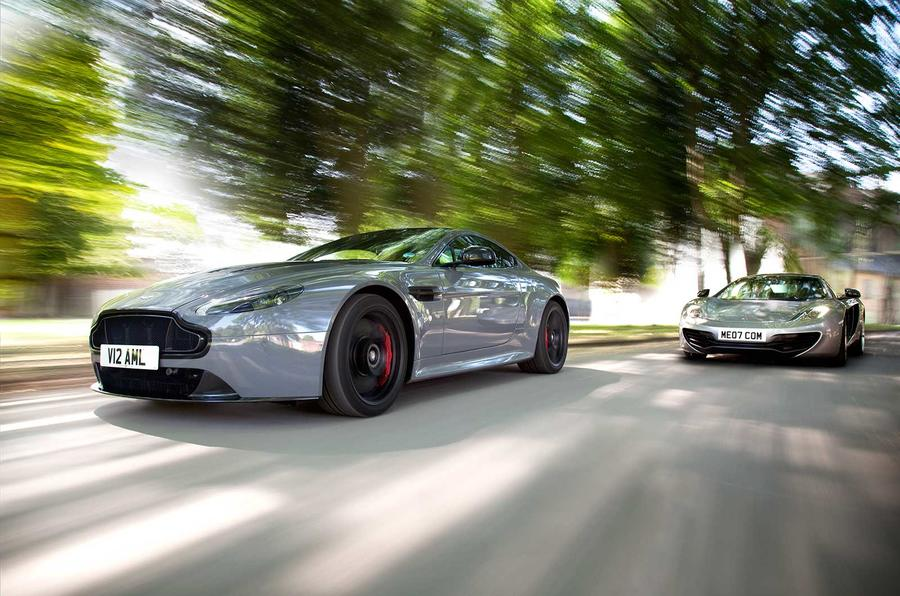 new versus used: aston martin v12 vantage s or mclaren mp4-12c