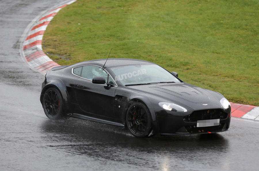 Aston Martin V12 Vantage GT3 begins Nürburgring tests